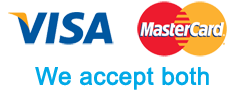 visa and mastercard logos - emergency locksmith in saltdean