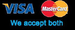 visa and mastercard logo