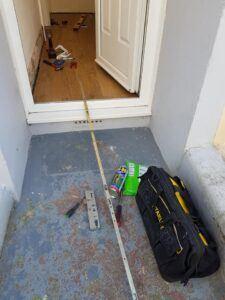 failed gearbox front door lock