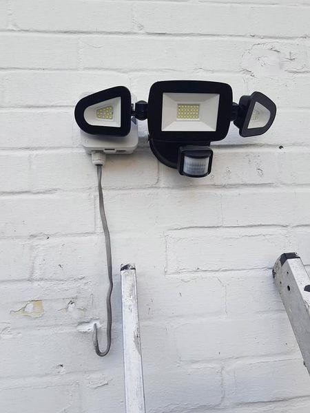 outdoor security light